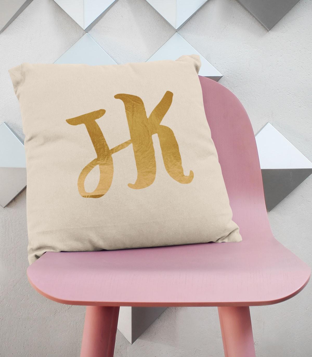 Pesonalised Pillow Case Initials